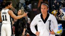 بيكي هامون أول مدربة في تاريخ السلة الأميركية: ولدت لتكون مدربة
