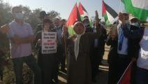 سياسة/مسيرة احتجاجية ضد الاستيطان في سلفيت/(العربي الجديد)