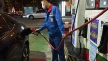 محطة وقود في إقليم غوانشي بالصين