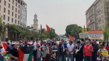 يهود أميركان يتظاهرون ضد نتنياهو أمام البيت الأبيض بعد اتفاقات التطبيع