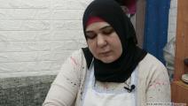 خديجة أبو طاءة لاجئة فلسطينية مخيم برج البراجنة - العربي الجديد