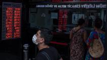 حافظت الليرة التركية على سعر صرفها أمام الدولار  رغم ضغوط الحظر