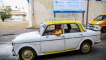 غزة سيارات قديمة (عبد الحكيم أبو رياش)