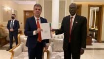 إيلي كوهين/وزير الدفاع السوداني/تويتر