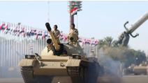 سياسة/استعراض الجيش العراقي/(تويتر)