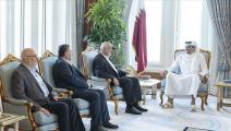أمير قطر يستقبل إسماعيل هنية (الأناضول)