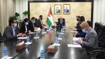 اشتية الغاز دعم قطري أوروبي وفا