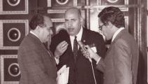 قاسم الريماوي (وسط)