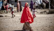 أطفال في الصومال (لويس تاتو/ فرانس برس)