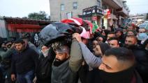تشييع الشهيد الفلسطيني داود الخطيب (فيسبوك)