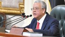 رئيس البرلمان المصري حنفي جبالي (خالد مشعل)