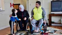 أسامة جحا وديما الداهوك في كندا 2 (مصطفى عاصي)