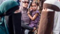 نساء مسلمات في الدنمارك (مادز كلاوس راسموسن/ فرانس برس)