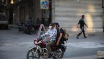 الدراجات النارية في إدلب (Getty)