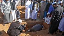 دفن ليبيين كانوا مفقودين في مقابر جماعية (فرانس برس)