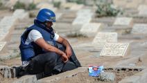 اليمن جنازة الصحافي أديب الجناني ahmad al-basha / afp)