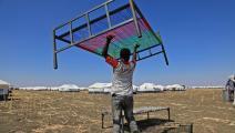 لاجئ إثيوبي في السودان (أشرف الشاذلي/ فرانس برس)