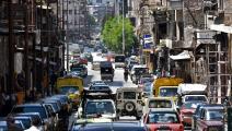زحمة سير في حلب (جورج أورفاليان/ فرانس برس)