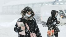 كورونا في الشتاء (سيرغي شوزاكوف/ Getty)