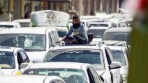 معظم السيارات قديمة (محمود حويس/ فرانس برس)