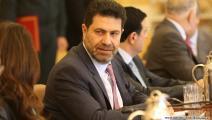 وزير الطاقة اللبناني ريمون غجر (حسين بيضون)