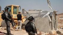 يواصل الاحتلال هدم المنازل في مسافر يطا الفلسطينية (فيسبوك)