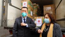 """فلسطين تتسلم 100 ألف جرعة من لقاح """"سينوفارم"""" هدية من الصين (وزارة الصحة)"""