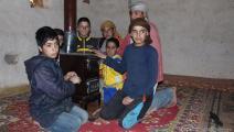 نازحون سوريون في مخيم في سورية (العربي الجديد)
