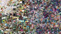عمل رقمي بالكامل للفنان الأميركي بيبل- تويتر