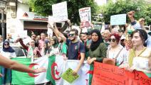 مظاهرات الحراك الطلابي في الجزائر (العربي الجديد)