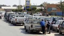 أزمة وقود في طرابلس/ فرانس برس