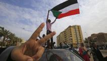 شباب في الثورة السودانية- فرانس برس