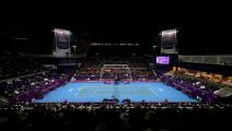Khalifa International Tennis view