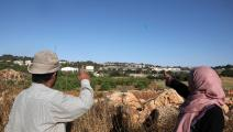 بيت سكاريا في الضفة الغربية (حازم بدر/ فرانس برس)