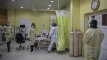 (عبد المنعم عيسى/Getty) مستشفيات السودان تعاني بسبب كورونا