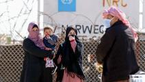 لاجئون سوريون في مخيم الزعتري في الأردن (خليل مزرعاوي/ فرانس برس)