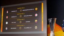 قرعة ربع نهائي الدوري الأوروبي: طريق منطقية للكبار
