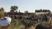 حادث تصادم بين قطارين في مصر (فرانس برس)
