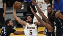 السلة الأميركية: فوز غير مقنع للوس أنجليس ليكرز