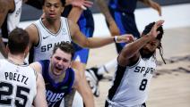 السلة الأميركية: فوز دالاس على سبيرز بفضل النجم دونتشيتش