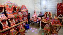 """اقتراب """"رمضان"""" يُحيي المشاريع الصغيرة في غزة (عبد الحكيم أبو رياش)"""