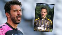 Gianluigi Buffon of Juventus FC during the Serie A football match between Juventus FC and Benevento Calcio at Allianz Stadium on March 21, 2021 in Turin, Italy. Juventus lost 0-1 over Benevento. (Photo by Massimiliano Ferraro/NurPhoto via Getty Images)