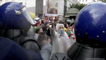 جزائريات يتظاهرن دعما للحراك الشعبي في عيد المرأة (العربي الجديد)