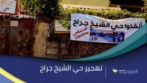 أكثر من 500 مقدسي مهددون بالإخلاء من حي الشيخ جراح في القدس المحتلة