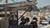 عناصر من الجيش المصري في سيناء (خالد دسوفي/ فرانس برس)