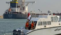 قناة السويس مهدّدة بتراجع إيراداتها في حالة تنفيذ ممرات نقل بديلة (طارق وجيه فرانس برس)