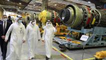 محركات الطائرات في قطر (تويتر)