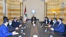 مجلس الوزراء اللبناني في السراي الحكومي