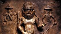 (من التماثيل البرونزية النيجيرية التي لا يزال يحتفظ بها المتحف البريطاني)