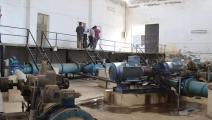 توقف عمل محطة مياه علوك في الحسكة السورية (فيسبوك)